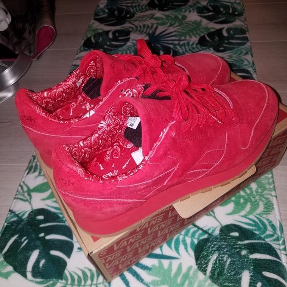 Reebok Shoes | Red Reebok Mens Bandana